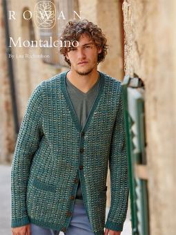 Montalcino Free Man's Cardigan Knitting Pattern