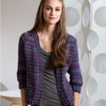 Moon Shadows Cardigan Free Knitting Pattern
