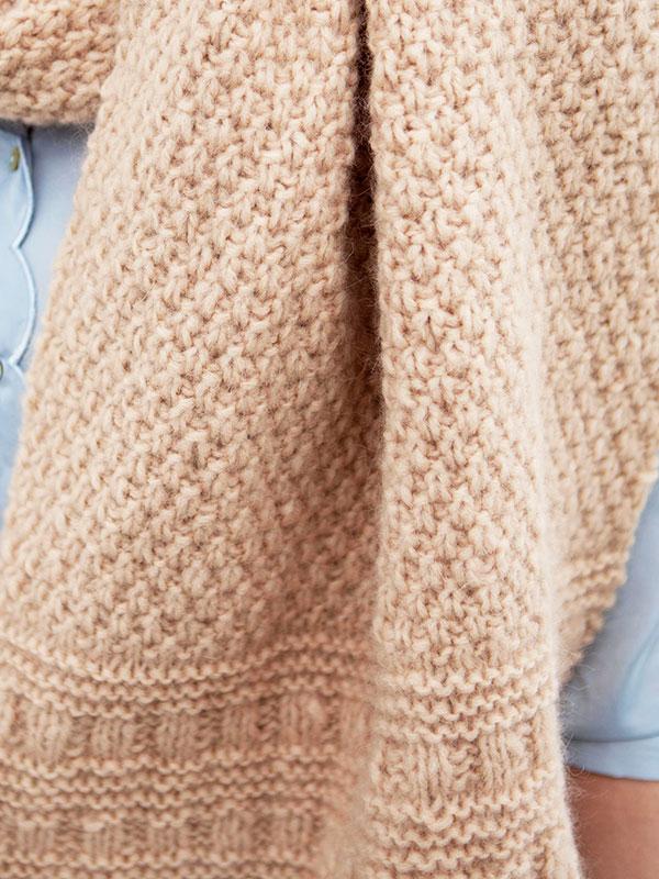 Navarra Free Pattern Scarf Knitting Knitting Bee