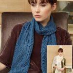 Odisha Free Lace Scarf Knitting Pattern