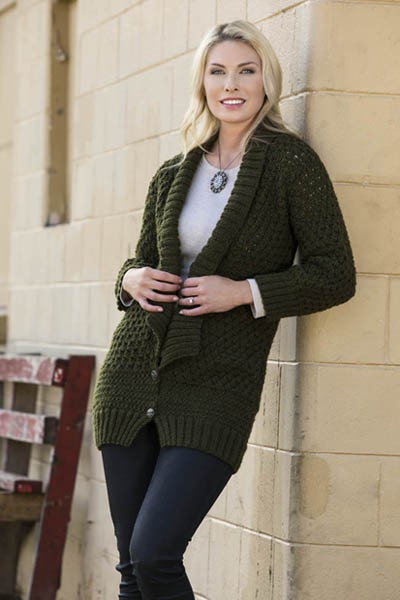 On the Catwalk Cardigan Free Knit Pattern