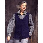 Patons A Walk in the Country Vest Free Knitting Pattern