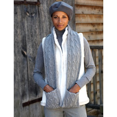 Knitting Pattern Scarf With Pockets : New Knitting Patterns on Knitting Bee