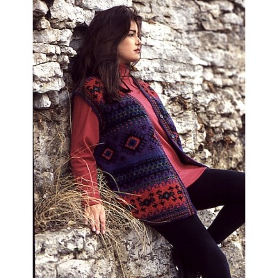 Free free fair isle vest knitting patterns Patterns ⋆ Knitting ...