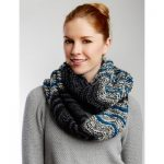 Patons Infinity Waves Scarf Free Knitting Pattern
