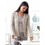 Patons Lace and Cable Cardigan