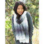 Patons Lofty Ripple Scarf Free Knitting Pattern