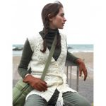 Patons Long Vest with Cables Free Knitting Pattern
