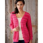 Patons Mixed Stitch Cardigan Free Knit Pattern