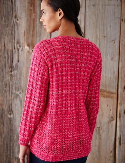 Patons Knitting Patterns : Patons Mixed Stitch Cardigan Free Knit Pattern ? Knitting Bee
