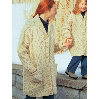 5b0ca9e45e5ca0 ... Cardigan Free Intermediate Women s Knit Pattern · Patons Shawl-Collar  Jacket with Cables ...