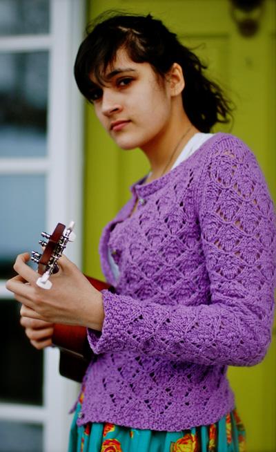 Que Sera Lace Cardigan Knitting Pattern 1