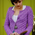Que Sera Lace Cardigan Knitting Pattern