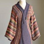 Reika Kimono Cardigan Free Knitting Pattern