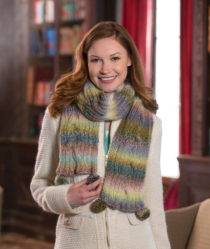Reversible Cable Scarf Free Knitting Pattern
