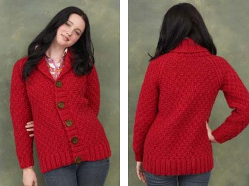 Shawl-Collar-Cardigan-Free-Knitting-Pattern3