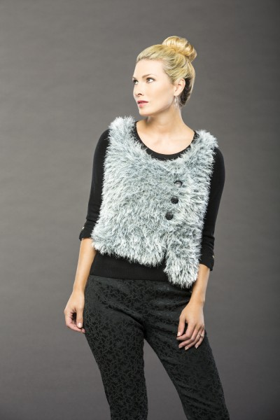 Siberian Vest free knitting pattern