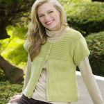 Simple Spring Swing Cardigan Free Knit Pattern