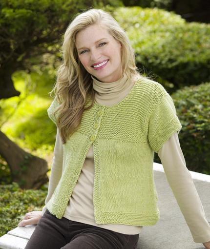 Simple Spring Swing Cardigan Free Knit Pattern