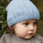 Snowbaby Hat Free baby Knitting Pattern