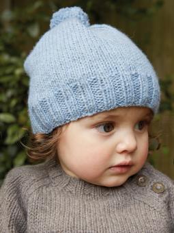 Snowbaby Hat Free baby Knitting Pattern