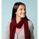 Super Scarf Free Caron Knit Pattern