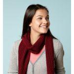Super Scarf Free Caron Knit Pattern