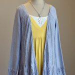 Swingy Free Cardi Knit Pattern