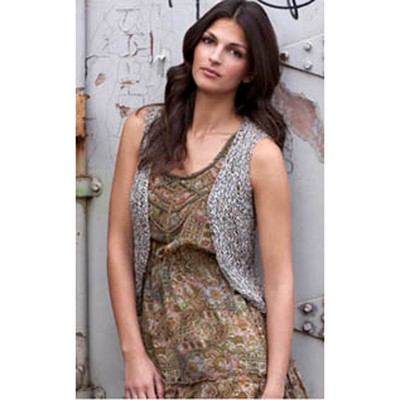Tahki Yarns Clinton Vest Free Knitting Pattern