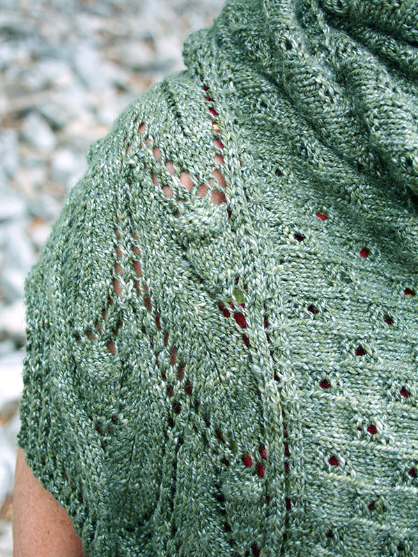 Tannin Lace Shawl Free Knitting Pattern ⋆ Knitting Bee