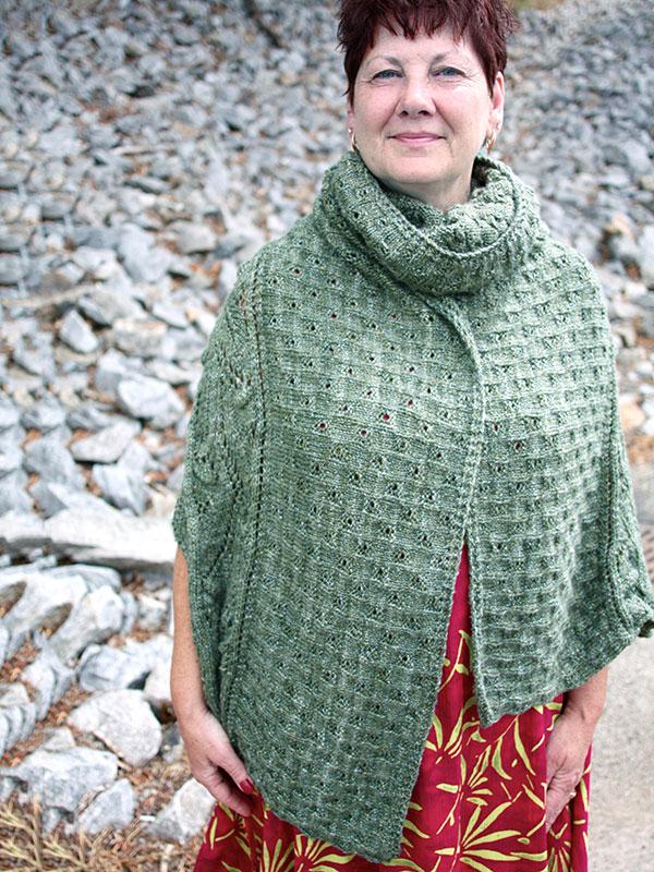 Tannin Lace Shawl Free Knitting Pattern