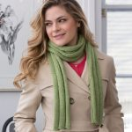 Thick Ribbed Beginner Scarf
