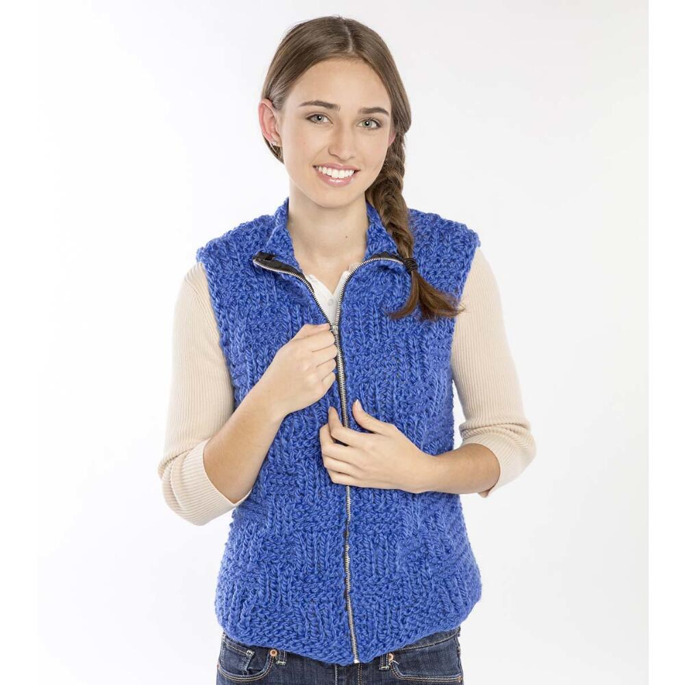 Free Free Zipper Vest Knitting Patterns Patterns Knitting Bee 4
