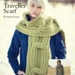 Traveller Scarf Free Knitting Pattern
