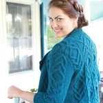 Vale Cabled Cardigan Free Knit Pattern