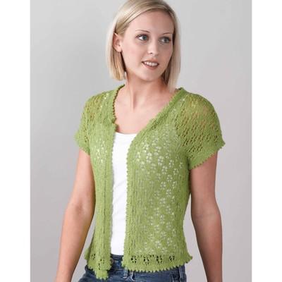 Valley Yarns Lace Vintage Vest