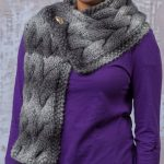 Woven Cable Scarf Free Knitting Pattern