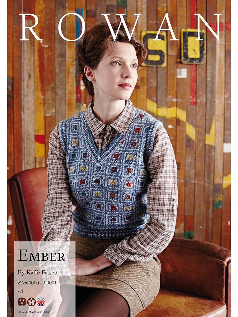 Ember Fair Isle Vest Free Knitting Pattern
