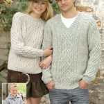 Amazing Aran Sweaters Free Knitting Pattern