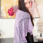 Arrowhead Lace Free Shawl Pattern