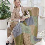 Autumn Throw Free Knitting Pattern