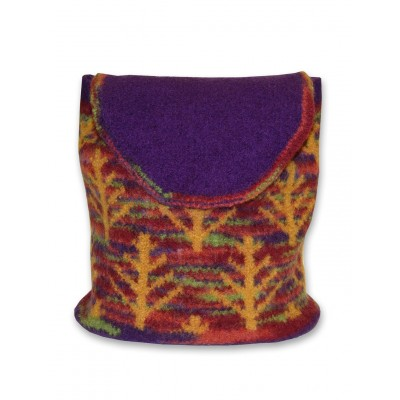 Autumn Woods Backpack Felted Knit Pattern