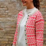 Azalea - classic colourwork cardigan pattern