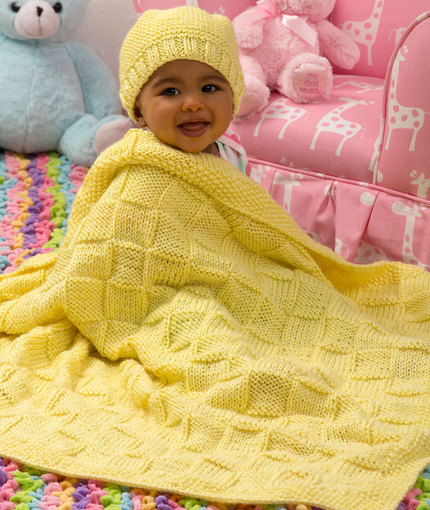 Free Free Basketweave Baby Blanket Knitting Patterns Patterns
