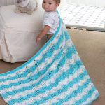 Baby Boy Chevron Blanket Free Pattern