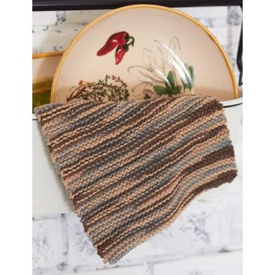 Back to Basics Dishcloth Free Beginner Knit Pattern