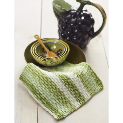 Basic Garter Stitch Dishcloth Free Knitting Pattern