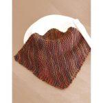 Basic Knit Dishcloth Bias Garter Stitch