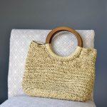 Basketry Handbag Free Knitting Pattern
