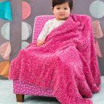 Basketweave Baby Blanket free knit pattern